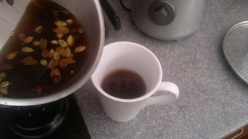 Time for a nice cuppa of detox tea