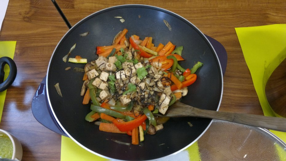 stir fry with tofu