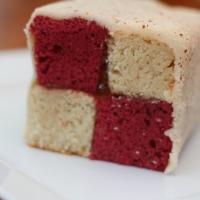 Vegan, Sugar-free Battenberg Cake