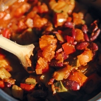 Vegan Mixed Bean Chilli