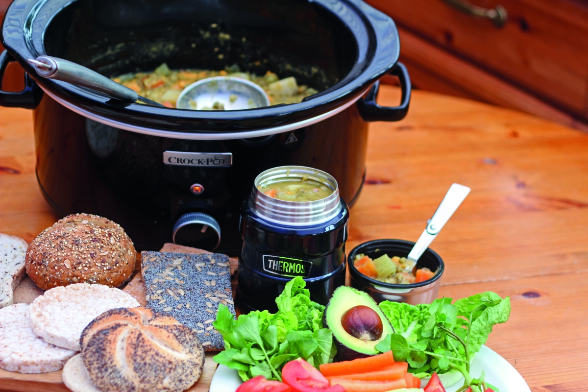 Cook Once, Eat Twice with a Slow Cooker